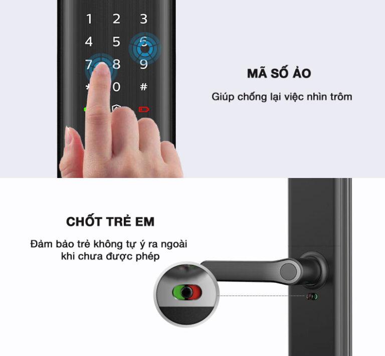 công nghệ khóa vân tay