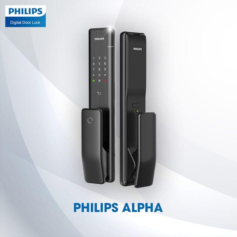 Top 3 Khóa Vân Tay đáng mua nhất đến từ thương hiệu Philips