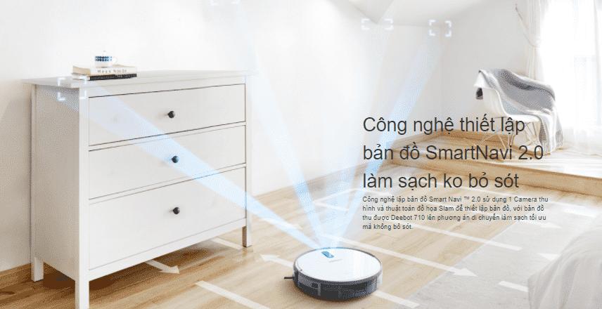 Robot hút bụi Deebot 710