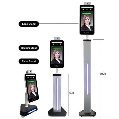 Máy chấm công nhận diện khuôn mặt nhiệt độ